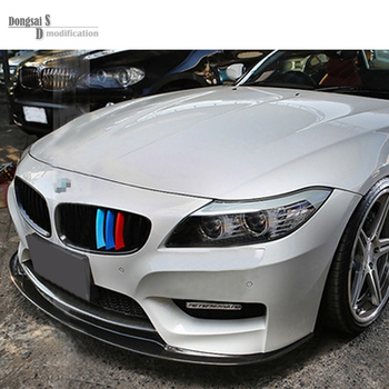 18i 20i 23i 28i 30i 35i 35is M amblem 3 renk grille ABS bmw z4 e89 roadster coupe araba styling grill 2009-2017 M-tri 61388